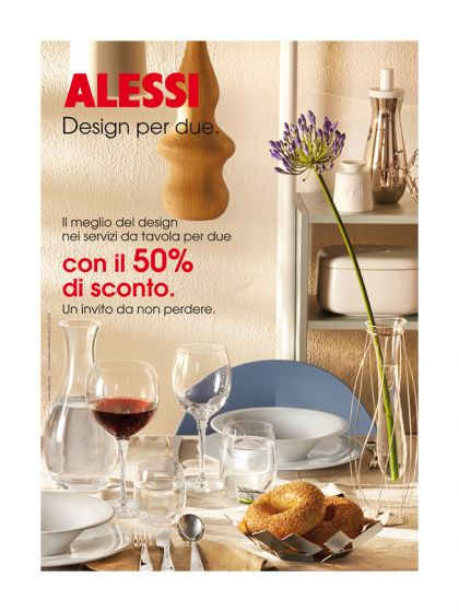 Alessi, Set 2 bicchieri per Long Drink