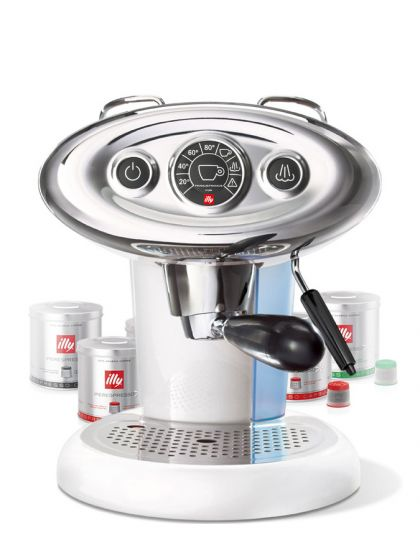 illy, X7.1 Iperespresso bianca + <br /> 108 capsule Illy Omaggio