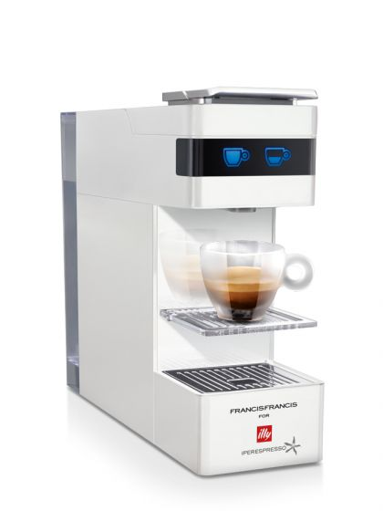 illy, Y3 Iperespresso bianca + <br />72 Capsule Illy Omaggio