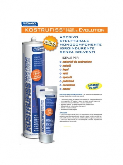 Prochimica, Kostrufiss Rapid Strong Evolution 310ml