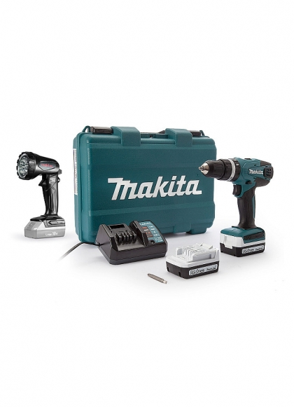Makita, Trapano avvitatore MAkita HP347DWE + Torcia Led