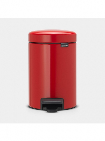 Brabantia, Pedal Bin NewIcon passion red - 3L