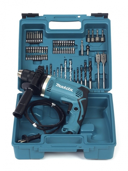 Makita, Trapano Percussione Makita +74 Accessori